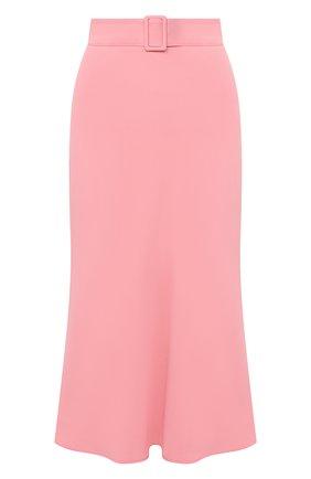 Женская юбка MSGM розового цвета, арт. 2943MDD11 207600 | Фото 1