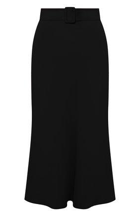 Женская юбка MSGM черного цвета, арт. 2943MDD11 207600 | Фото 1