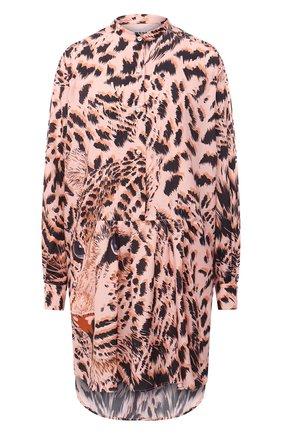 Женское платье MSGM розового цвета, арт. 2943MDA35 207621 | Фото 1