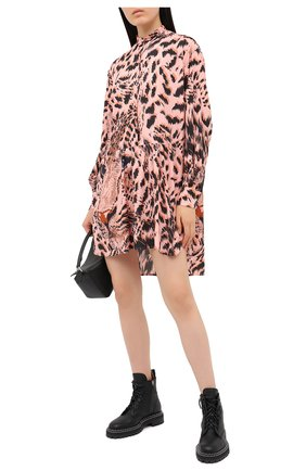 Женское платье MSGM розового цвета, арт. 2943MDA35 207621 | Фото 2