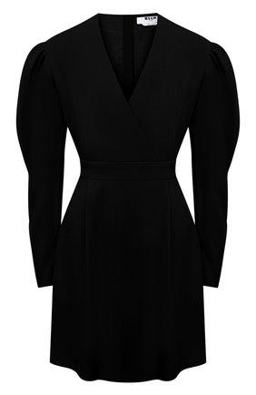 Женское платье MSGM черного цвета, арт. 2943MDA05 207600 | Фото 1
