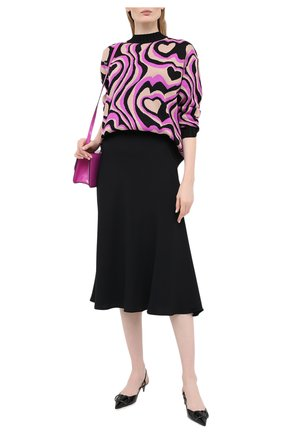 Женская пуловер MSGM разноцветного цвета, арт. 2941MDM126 207775 | Фото 2