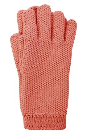 Женские кашемировые перчатки LORO PIANA розового цвета, арт. FAA1252 | Фото 1 (Материал: Шерсть, Кашемир)