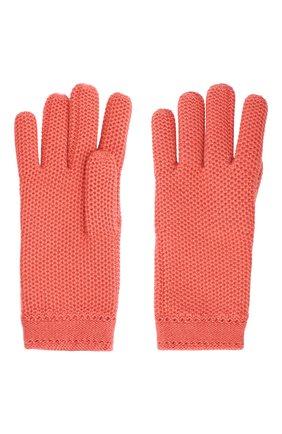 Женские кашемировые перчатки LORO PIANA розового цвета, арт. FAA1252 | Фото 2 (Материал: Шерсть, Кашемир)