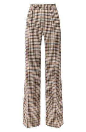 Женские кашемировые брюки LORO PIANA бежевого цвета, арт. FAL3078 | Фото 1