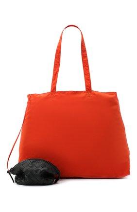 Женская сумка BOTTEGA VENETA черного цвета, арт. 629238/VCQG2 | Фото 2