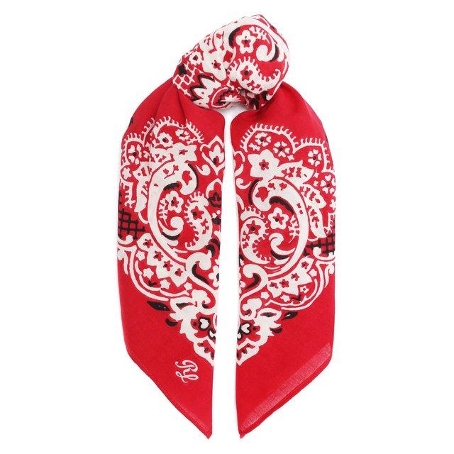 Хлопковый платок Polo Ralph Lauren