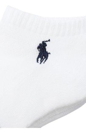 Женские комплект из 3 пар носков POLO RALPH LAUREN белого цвета, арт. 455747502   Фото 2