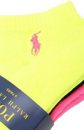 Женские комплект из 3 пар носков POLO RALPH LAUREN разноцветного цвета, арт. 455711303   Фото 2