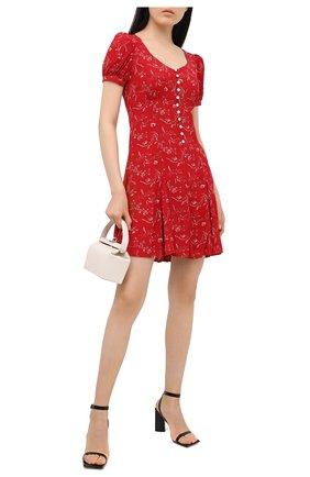 Женское платье из вискозы POLO RALPH LAUREN красного цвета, арт. 211808100 | Фото 2