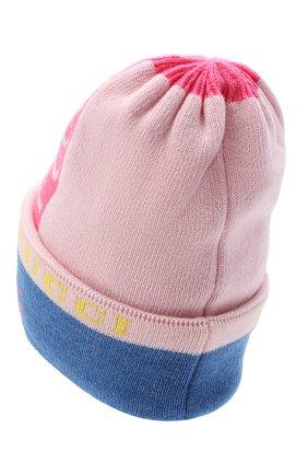 Женский шерстяная шапка EMILIO PUCCI розового цвета, арт. 0RKX15/0R958 | Фото 2