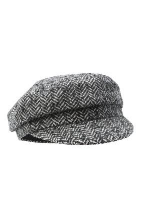 Женская шерстяная кепи ISABEL MARANT серого цвета, арт. CQ0049-20A044A/EVIE | Фото 1