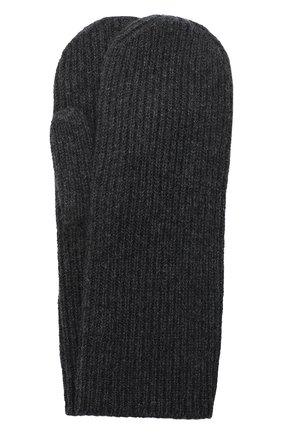 Женские кашемировые варежки ISABEL MARANT темно-серого цвета, арт. GA0018-20A033A/CHIRAZ | Фото 1