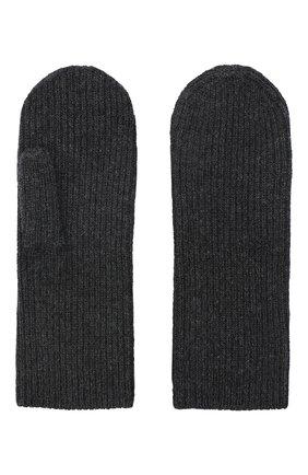 Женские кашемировые варежки ISABEL MARANT темно-серого цвета, арт. GA0018-20A033A/CHIRAZ | Фото 2