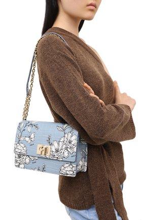 Женская сумка furla 1927 FURLA голубого цвета, арт. BAWMACO/KFI000 | Фото 2