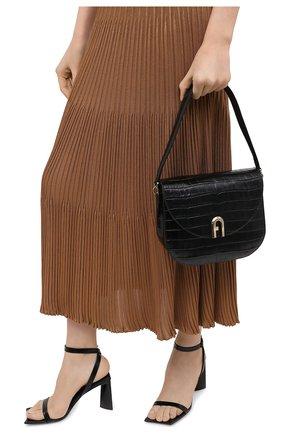 Женская сумка sleek FURLA черного цвета, арт. BAWHABR/KO0000 | Фото 2
