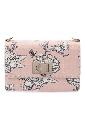 Женская сумка furla 1927 FURLA розового цвета, арт. BAWNACO/KFI000 | Фото 1
