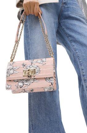 Женская сумка furla 1927 FURLA розового цвета, арт. BAWNACO/KFI000 | Фото 2