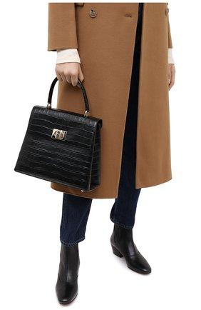 Женская сумка furla 1927 FURLA черного цвета, арт. BARPACO/KO0000 | Фото 2