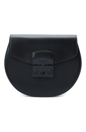 Женская сумка metropolis mini FURLA черного цвета, арт. BATJEP0/VNC000 | Фото 1