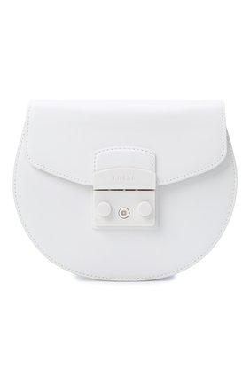 Женская сумка metropolis mini FURLA белого цвета, арт. BATJEP0/VNC000 | Фото 1