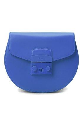 Женская сумка metropolis mini FURLA синего цвета, арт. BATJEP0/VNC000 | Фото 1