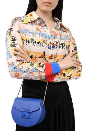 Женская сумка metropolis mini FURLA синего цвета, арт. BATJEP0/VNC000 | Фото 2