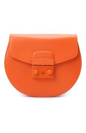 Женская сумка metropolis mini FURLA оранжевого цвета, арт. BATJEP0/VNC000 | Фото 1