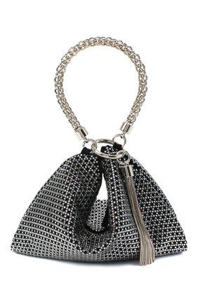 Женская сумка callie JIMMY CHOO черного цвета, арт. CALLIE/IAM | Фото 1