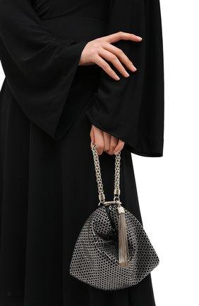 Женская сумка callie JIMMY CHOO черного цвета, арт. CALLIE/IAM | Фото 2