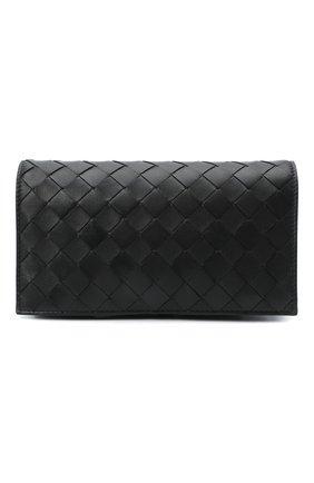 Женская сумка BOTTEGA VENETA черного цвета, арт. 630547/VCPP3 | Фото 1