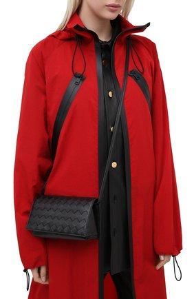 Женская сумка BOTTEGA VENETA черного цвета, арт. 630547/VCPP3 | Фото 2