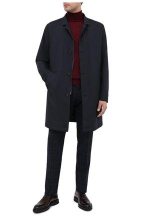 Мужские кожаные оксфорды BARRETT бордового цвета, арт. 192U030.21/BETIS CREAM | Фото 2