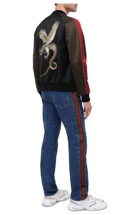 Мужские джинсы GUCCI синего цвета, арт. 623954/XDA9B | Фото 2