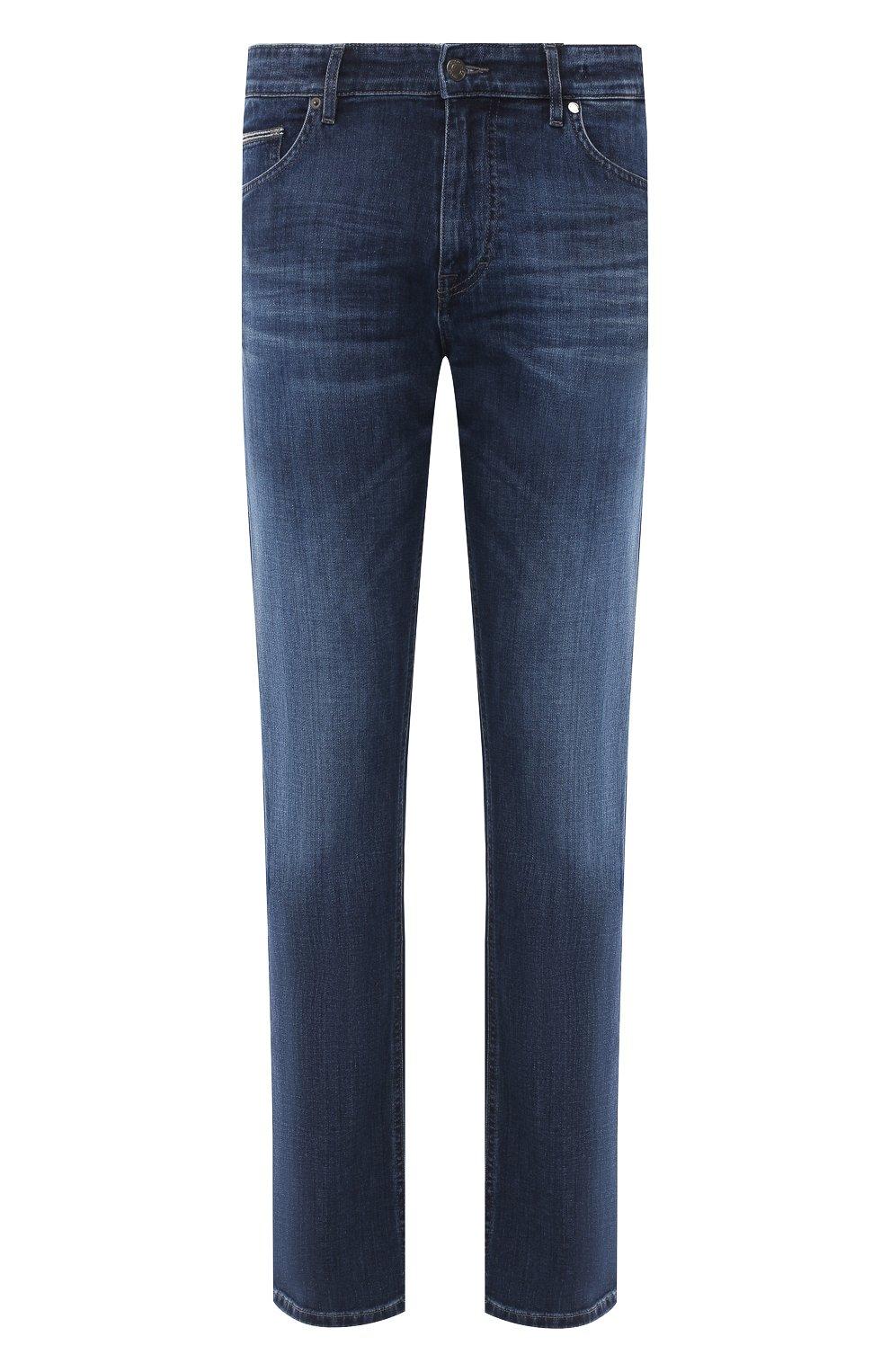 Мужские джинсы BOSS синего цвета, арт. 50437919 | Фото 1