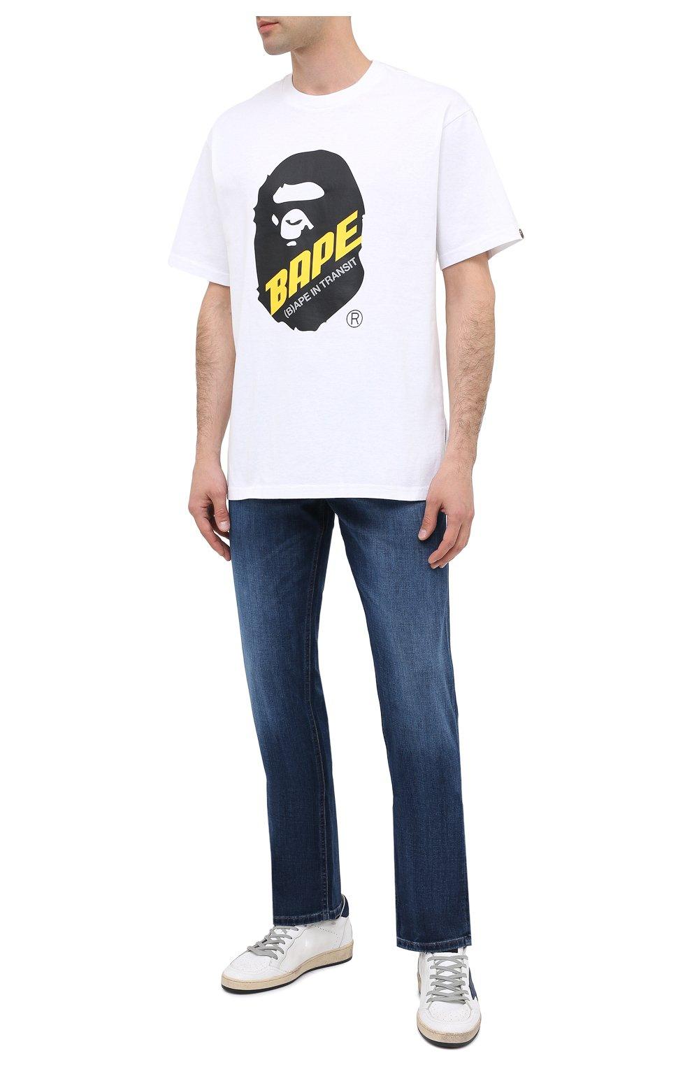 Мужские джинсы BOSS синего цвета, арт. 50437919 | Фото 2