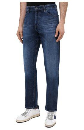 Мужские джинсы BOSS синего цвета, арт. 50437919 | Фото 3