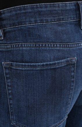 Мужские джинсы BOSS синего цвета, арт. 50437919 | Фото 5