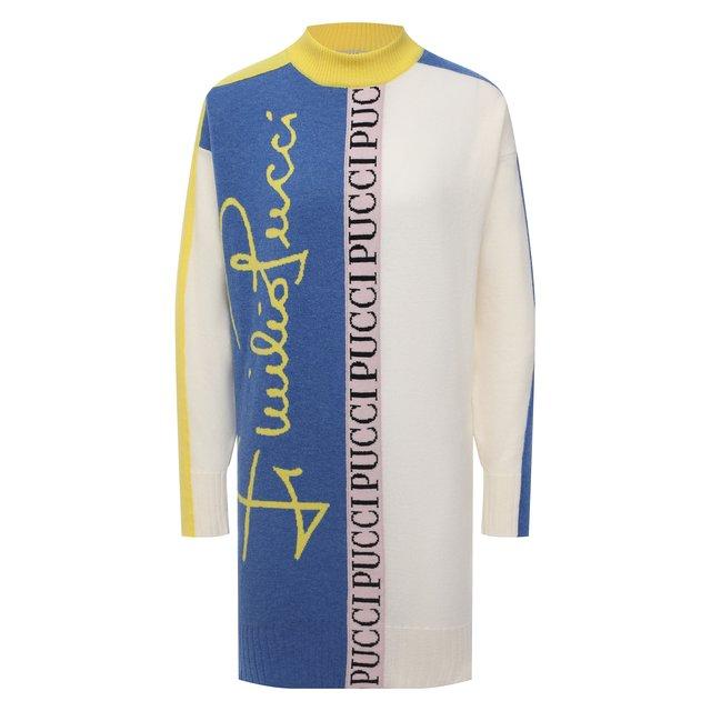 Шерстяное платье Emilio Pucci