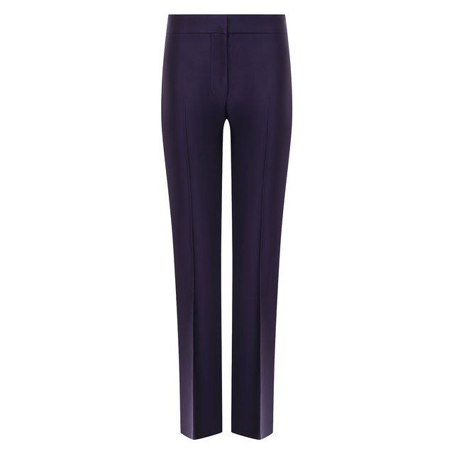 Шелковые брюки Alexander McQueen