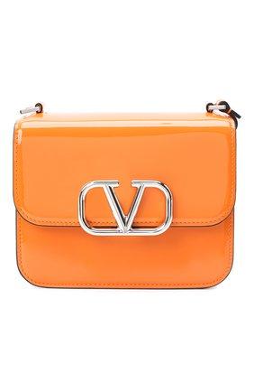 Женская сумка valentino garavani vsling VALENTINO оранжевого цвета, арт. UW2B0F01/ZEE | Фото 1