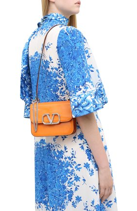 Женская сумка valentino garavani vsling VALENTINO оранжевого цвета, арт. UW2B0F01/ZEE | Фото 2