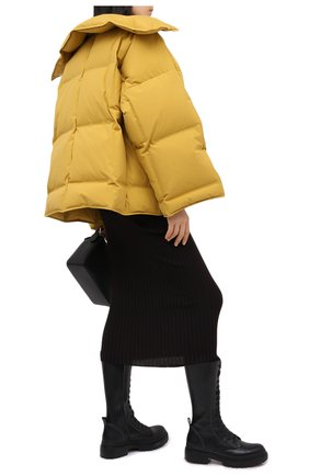Женский пуховая куртка BOTTEGA VENETA желтого цвета, арт. 632739/VKH50 | Фото 2