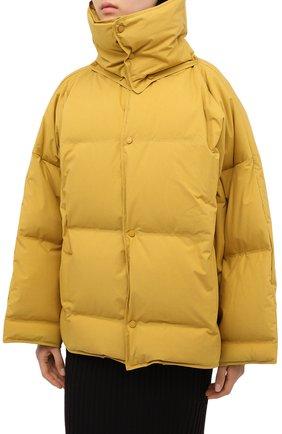 Женский пуховая куртка BOTTEGA VENETA желтого цвета, арт. 632739/VKH50 | Фото 3
