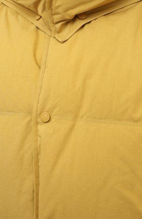 Женский пуховая куртка BOTTEGA VENETA желтого цвета, арт. 632739/VKH50 | Фото 5