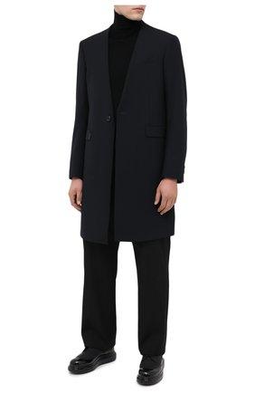 Мужской кожаные дерби ALEXANDER MCQUEEN черного цвета, арт. 625186/WHYK2 | Фото 2
