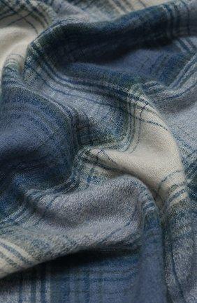 Мужской шарф из шерсти и кашемира ISABEL MARANT голубого цвета, арт. EC0236-20A016J/SUZANNE | Фото 2