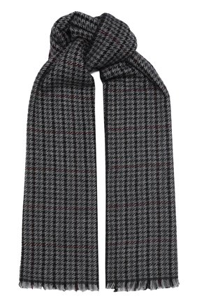 Мужской шарф из шерсти и кашемира ISABEL MARANT серого цвета, арт. EC0237-20A017J/DASH | Фото 1