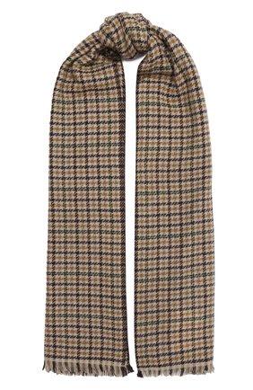 Мужской шарф из шерсти и кашемира ISABEL MARANT бежевого цвета, арт. EC0237-20A017J/DASH | Фото 1