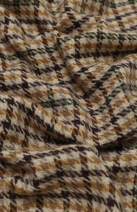 Мужской шарф из шерсти и кашемира ISABEL MARANT бежевого цвета, арт. EC0237-20A017J/DASH | Фото 2
